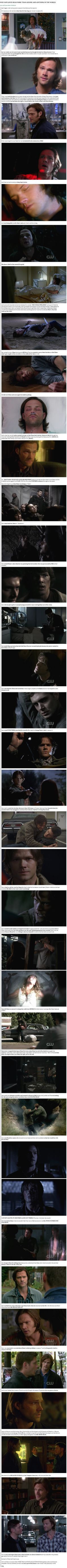 Sam loves Dean, and Dean is super overprotective of Sam because he loves his brother right back :) it's what family does.