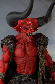 Figurine of the Lord of Darkness (played by the great Tim Curry) featured in Legend.