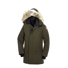 Canada Goose Men's Langford Parka In Military Green
