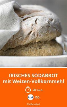 Irisches Sodabrot - mit Weizen-Vollkornmehl - smarter - Kalorien: 150 kcal - Zeit: 20 Min.   eatsmarter.de