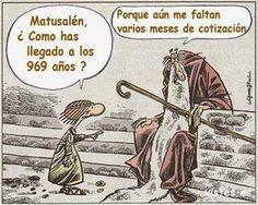Los 969 años de Matusalén.