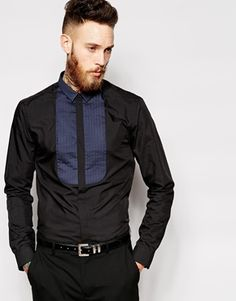 New Look Smart Shirt with Bib