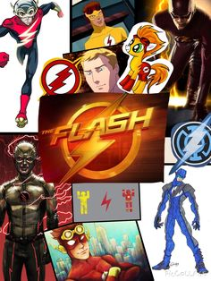 The Flash Collage Made By Cody Armstrong