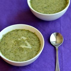 Broccoli Soup for a Healthy Dinner Side Dish