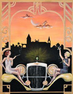 The Great Gatsby Fan Art by Daniel Patrick Clark