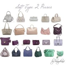Soft Type 2 Purses, created by bonnydianne on Polyvore