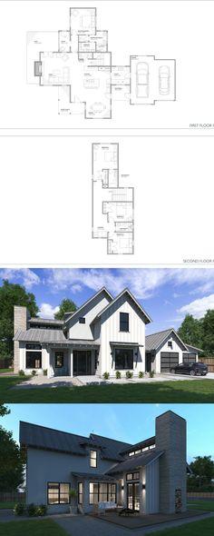 Normande modern farmhouse! Great two story home, 4 bed, 3.5 bath. Popular modern farmhouse floor plan!