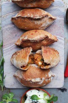 Pirozhki- a #vegan twist on a traditional Russian dish! #healthy #plantbased