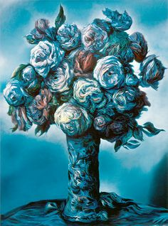 Glenn Brown, On Hearing the Death of My Mother, 2002. Art Experience:NYC http://www.artexperiencenyc.com/social_login