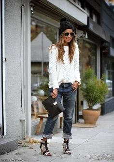 Style Guide: How to wear boyfriend jeans this spring? | Fab Fashion Fix