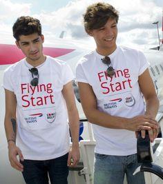 #onedirection #1dinfection #flyingstart #britishairways