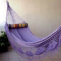 Relax and Comfy Backyard Hammock Decor Ideas Purple Home, Purple Rain, Purple Sparkle, Color Violeta, All Things Purple, Purple Stuff, Purple Colors, Malva, Ideas Hogar