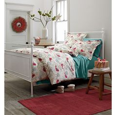 Tweet Tweet Flannel Duvet Cover | The Company Store