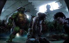 Teenage mutant ninja turtles wallpapers wallpaper hd wallpapers teenage mutant ninja turtles raphael fantasy hd wallpapers voltagebd Gallery