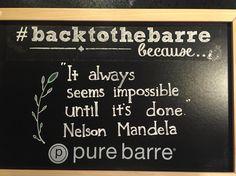 Chalk quote - Nelson Mandela