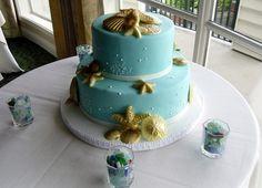 Seashell cake from New Renaissance Cakes