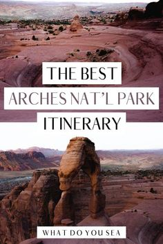 Keen on what are the best trails and sites for your Arches National Park itinerary? Follow this guide to maximize your 3 days in this stunning National Park! Plus, get a free, downloadable map to have on hand while you explore!