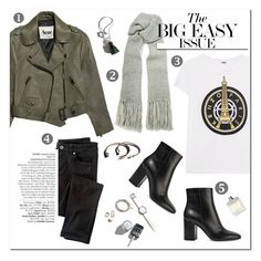 A fashion look from September 2016 featuring white t shirt, zipper jacket and skinny jeans. Browse and shop related looks. Ask The Dust, Mode Style, Kenzo, Acne Studios, Bohemian Style, Fashion Outfits, Women's Fashion, Personal Style, Curvy