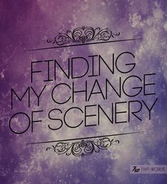 finding my change