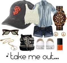 Take me out to the ball game. San Francisco Giants.