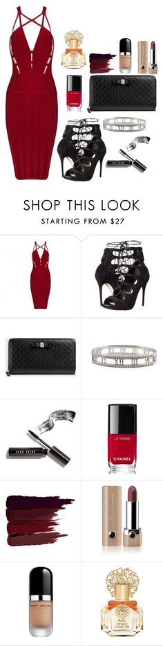 Night Out // 15 by alyssa7890 on Polyvore featuring Posh Girl, Alexander McQueen, Gucci, Tiffany & Co., Bobbi Brown Cosmetics, Marc Jacobs, Serge Lutens, Vince Camuto and Chanel
