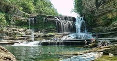 Head outside the city and into the great outdoors for Tennessee's natural swimming areas provided by the lakes, rivers, and waterfalls. Here are the best swimming holes around Nashville. Norris Lake Tennessee, Camping In Tennessee, Tennessee Vacation, Camping Places, Camping World, Places To Travel, Places To See, Best Swimming, Swimming Holes