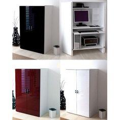 1000 images about meuble bureau on pinterest bureaus for Meuble bureau compact