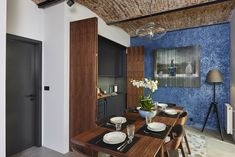 Five Yards House is a new one-bedroom home designed by Archier, an architecture studio based in Melbourne and Hobart, Australia. Contemporary Architecture, Interior Architecture, Interior Design, Residential Architecture, Interior Ideas, One Bedroom House, Mid Century House, House And Home Magazine, Mid-century Modern