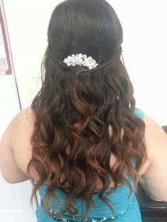 S/O to my friend who agreed for me to beautify her hair! My Bridal Hair Masterpiece!