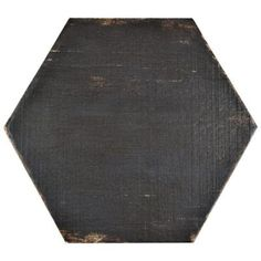 Merola Tile Retro Negre Hex 14-1/8 in. x 16-1/4 in. Porcelain Floor and Wall Tile (10.76 sq. ft. / case)-FNURTXNG - The Home Depot