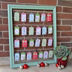 Huckleberry Love: Advent Calendar {Christmas Tutorial}