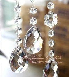 380 pçs/lote 38mm frete grátis crystal glass chandelier peças de iluminação pingente forma de amêndoa prism frete grátis em Lustre de Cristal de Luzes & Iluminaçao no AliExpress.com | Alibaba Group