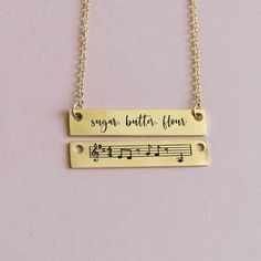 Your place to buy and sell all things handmade - Top-Trends Waitress Musical, Musical Theatre, Music Necklace, Bar Necklace, For Good Wicked, Wicked Musical, Missionary Gifts, Friendship Jewelry, Best Friend Necklaces