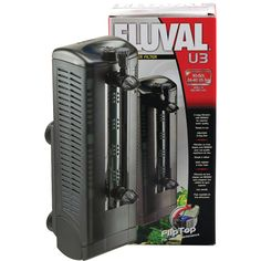 Fluval U3 Underwater Filter - Up to 40 gal.  | Bring powerful 3-stage filtration and circulation to hard-to-filter places like aquariums, terrariums and turtle tanks with the Fluval U Series Underwater Filter. This completely submersible filter features a unique 3-way flow control spray bar that allows you to create water movement anywhere you need…