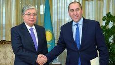 Токаев призвал укреплять сотрудничество с Грузией