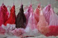 Pettiskirt tutu one for every day of the week .www.littleandpinkboutique.co.uk