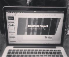 [#FYPUpdate #10] @ #20160326 18:20 Presentation is coming to us  #study #fyp #presentation #comingsoon #2weekstogo #powerpoint #lotstodo #goodluck