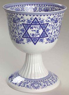 Spode BLUE ROOM JUDAIC COLLECTION Sabbath Kiddush Cup 3746123