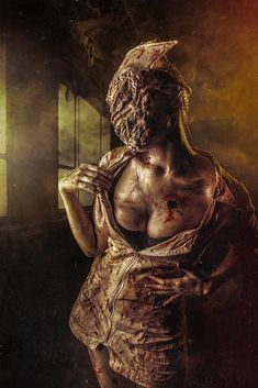 Silent Hill Cosplay by elenasamko on DeviantArt Scary Movies, Horror Movies, Awesome Movies, Silent Hill Krankenschwester, Slient Hill, Haunted Asylums, Pyramid Head, Satanic Art, Halloween Horror