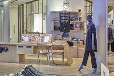 Levi's pop up Tailor Shop Workshop at Selfridges by Lucky Fox, London – UK » Retail Design Blog