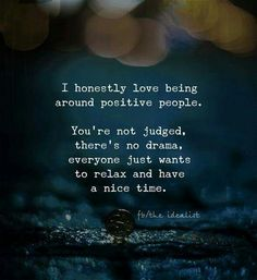 yes yes yes! positive people <3