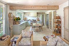 Carol Glasser's wonderful kitchen!