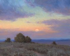 Mesa Verde Moonrise by Jesse Powell Oil ~ 40 x 50