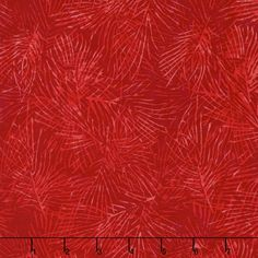 Very Merry Batiks - Pine Needle Red & Light Red Yardage
