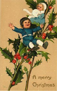 CD-VINTAGE-VICTORIAN-CHRISTMAS-PHOTOS-CHILDREN-CLIP-ART-Card-Prints-Boys-Girls