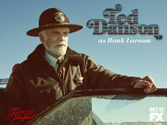 Fargo season 2 | The unflappable sheriff. Can he keep the peace? The award-winning FX series returns Monday Oct 12.
