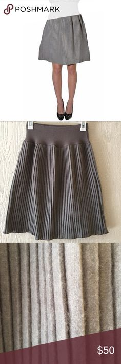 Tonga Gray Fleece Accordion skirt Good condition above knee pleated skirt• smooth wide knit waistband • a line skirt • 80% Cotton 20% Polyester   • Offers Welcome • Bundle Discounts  • Suggested User • Fast Shipper Tonga Skirts A-Line or Full