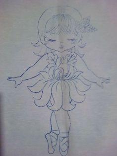 Niña crisantemo
