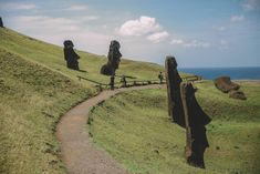 Strand, Country Roads, Easter Island, South America Travel, Mysterious Places, Volcanoes, Round Trip, Travel Report, Road Trip Destinations