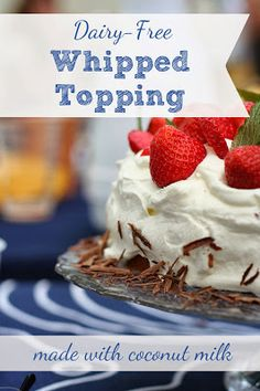 The Prudent Pantry: Dairy-Free Whipped Topping {made with coconut milk}